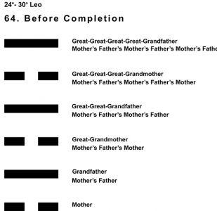 Ancestors-05LE 24-30 Hx-64 Before Completion